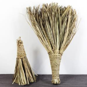 Broom in palm leaves, S