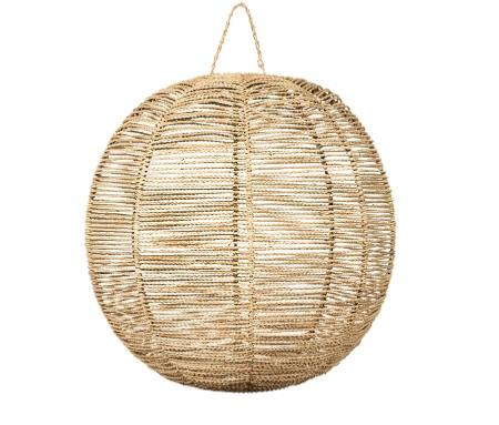 Suspension  BOULE en Corde de Palmier XL
