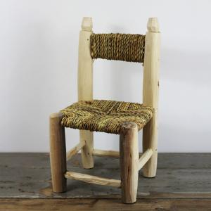 Wicker chair, small